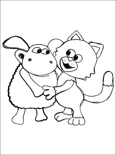 Coloring Book sheepandfriends