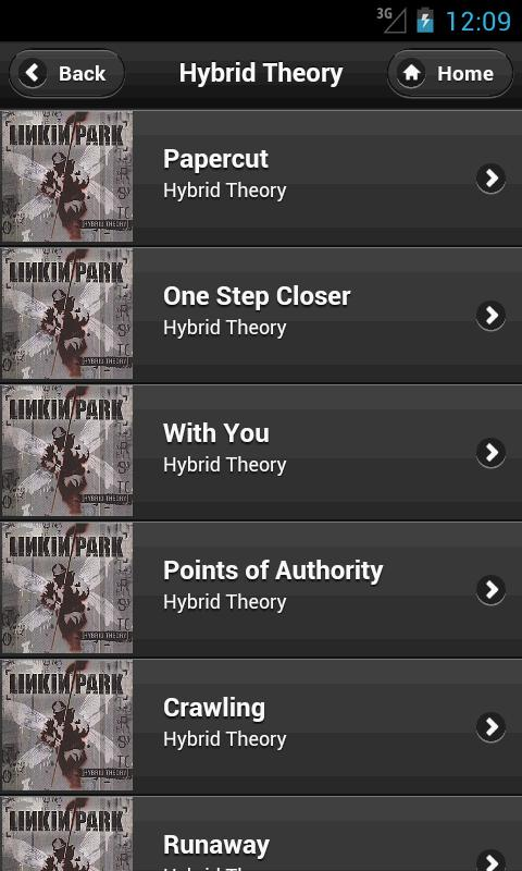 Linkin Park Full Fan- screenshot