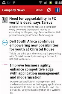 ITWeb Technology News- screenshot thumbnail