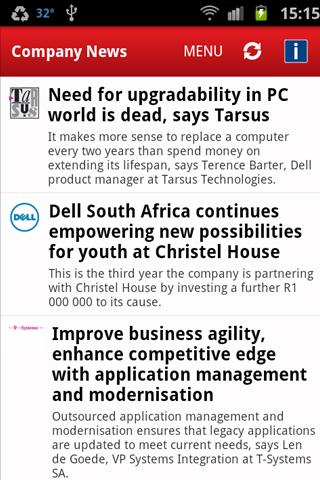 ITWeb Technology News- screenshot