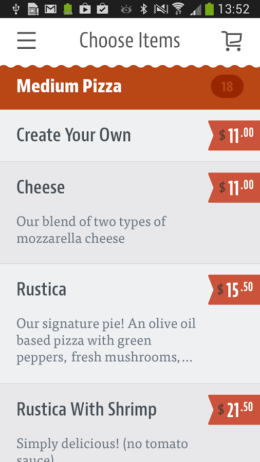 Pizza Buona- screenshot