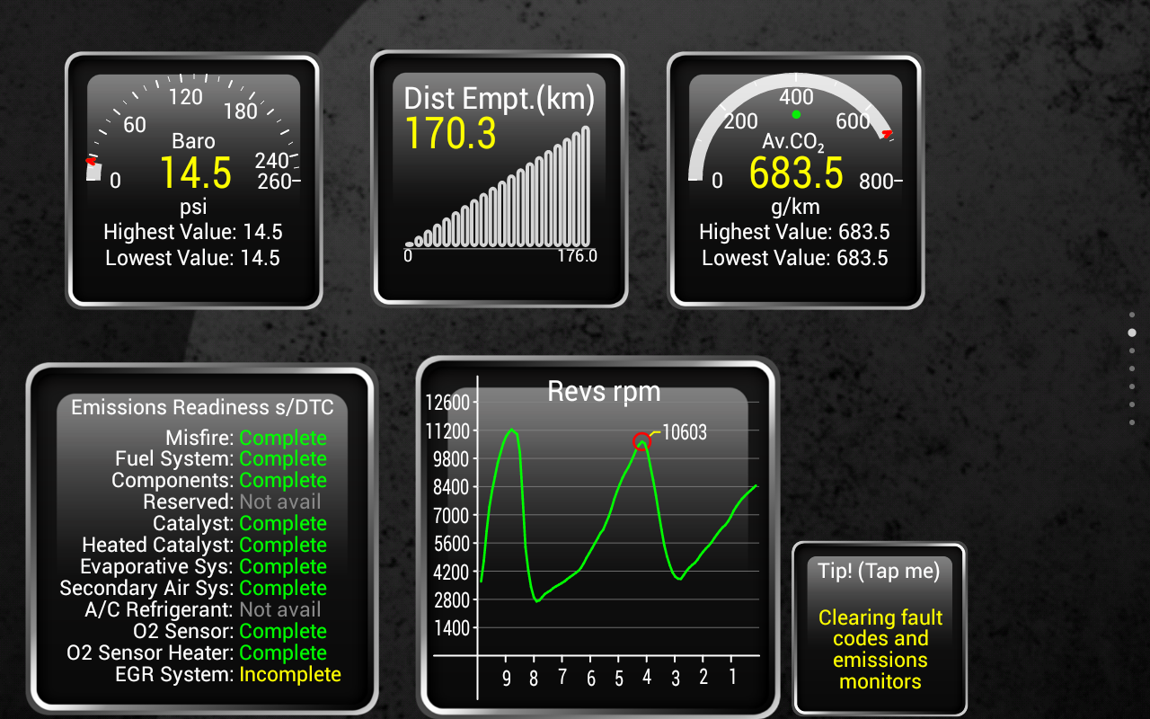 Torque Pro (OBD 2 & Car)- screenshot