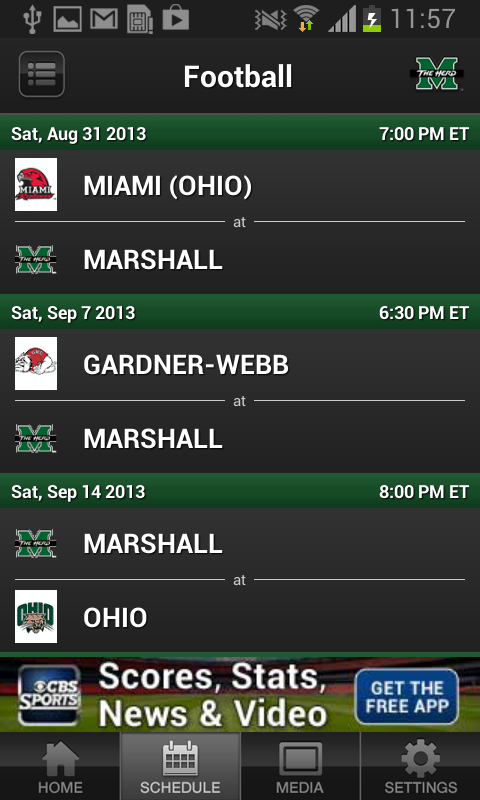 Marshall Thundering Herd - screenshot