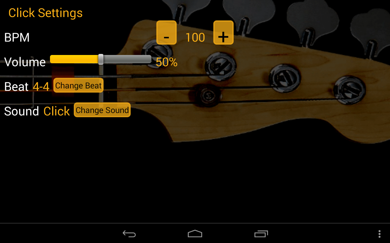 Bass Guitar Tutor Free- screenshot