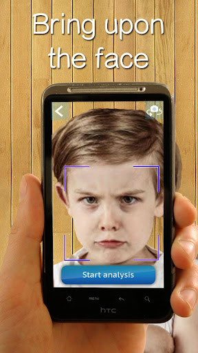 Real age face scanner