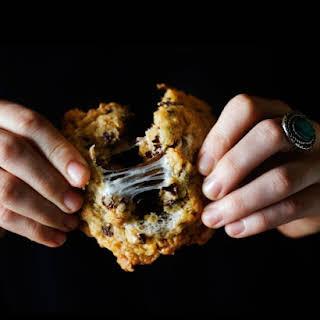Cornflake-Chocolate Chip-Marshmallow Cookies.