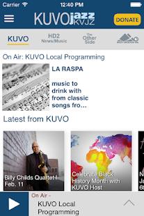 KUVO Public Radio App - screenshot thumbnail