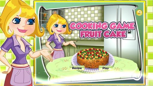 萌娃学做饭-水果蛋糕