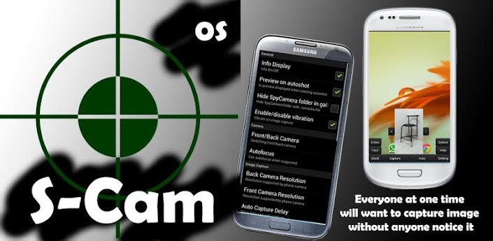 Spy Camera OS (Open Source)