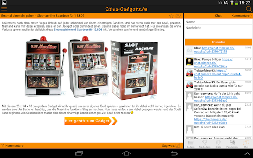 China Gadgets - Die Gadget App- screenshot thumbnail