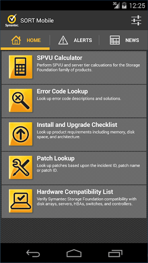 【免費生產應用App】Symantec SORT Mobile-APP點子