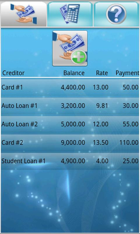 Debt Free - screenshot