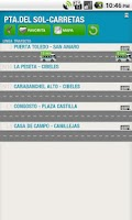 Screenshot of Buses Madrid