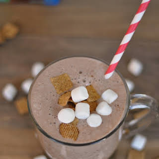 S'mores Chocolate Smoothie.
