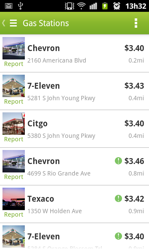 Fuelzee - Cheap Gas Prices - screenshot