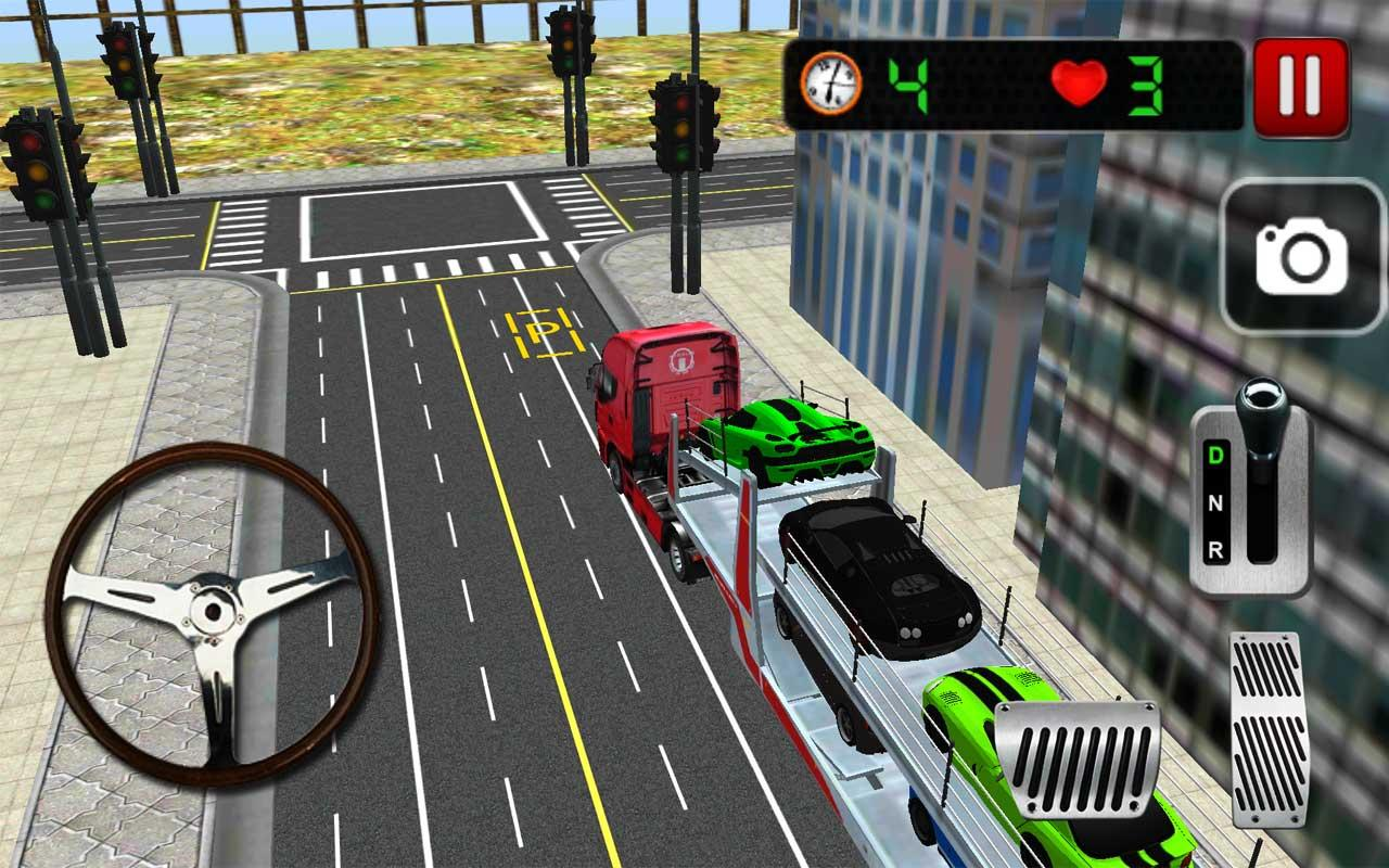 Car Transporter 3D- screenshot