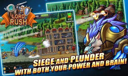 Lord Rush: Medieval Castle War - screenshot thumbnail