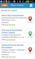 Screenshot of Amsterdam Guide Weather Hotels