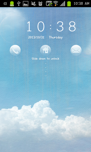Sky go locker theme