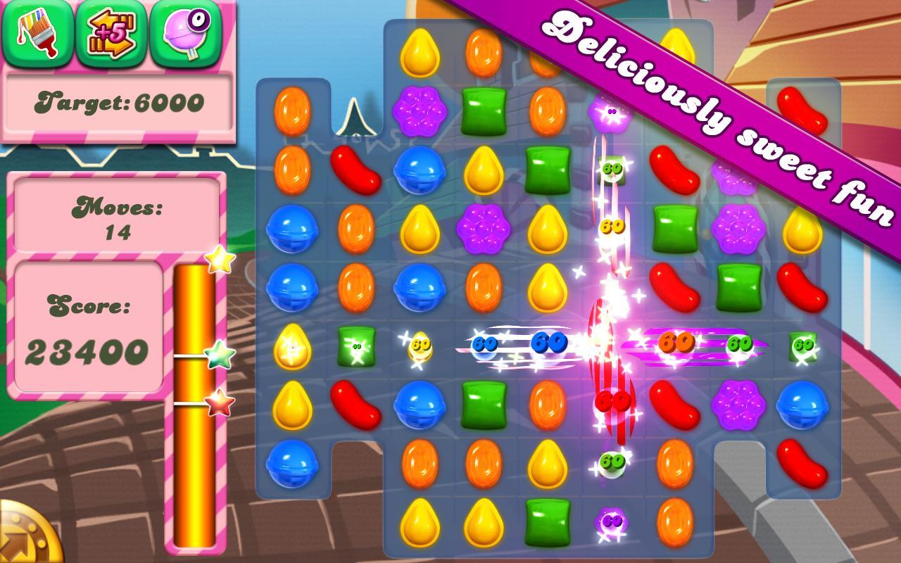 Gameplay of Candy Crush Saga