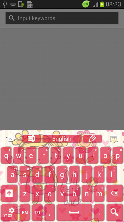 Keyboard Childhood Theme - screenshot