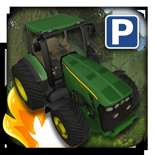 3D Tractor Car Parking
