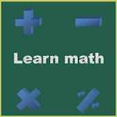 Learn math.