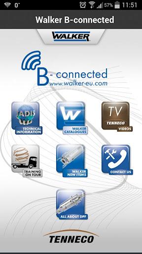 Walker B-connected