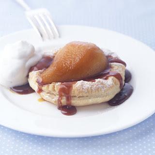 Caramelized Pear Tarts with Cardamom Cream