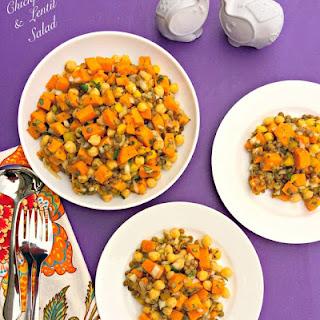 Chickpea & Lentil Salad.