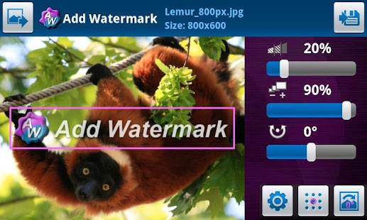 Add Watermark - screenshot thumbnail