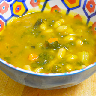 Pumpkin White Bean Soup