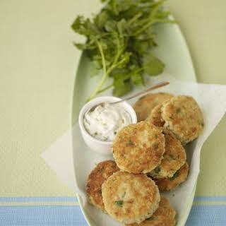 Lemon-Horseradish Fish Cakes.