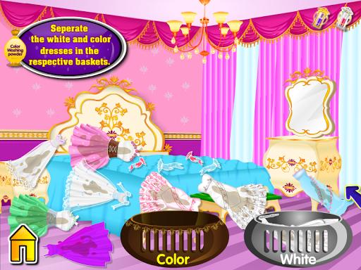 王女ウォッシュ洗濯の女の子のゲーム