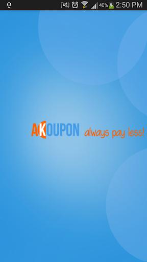 Akoupon - Always pay less