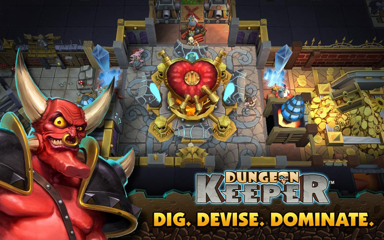 Dungeon Keeper- screenshot