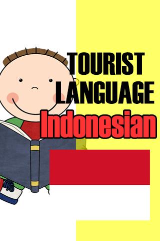 Tourist language Indonesian