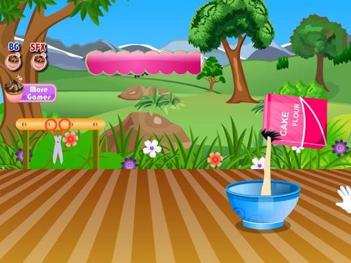 甜甜圈酱烹饪游戏