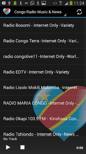 Congo Radio Music News