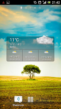 Cute Weather Widget