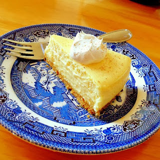 Countdown to Christmas - Eggnog Cheesecake