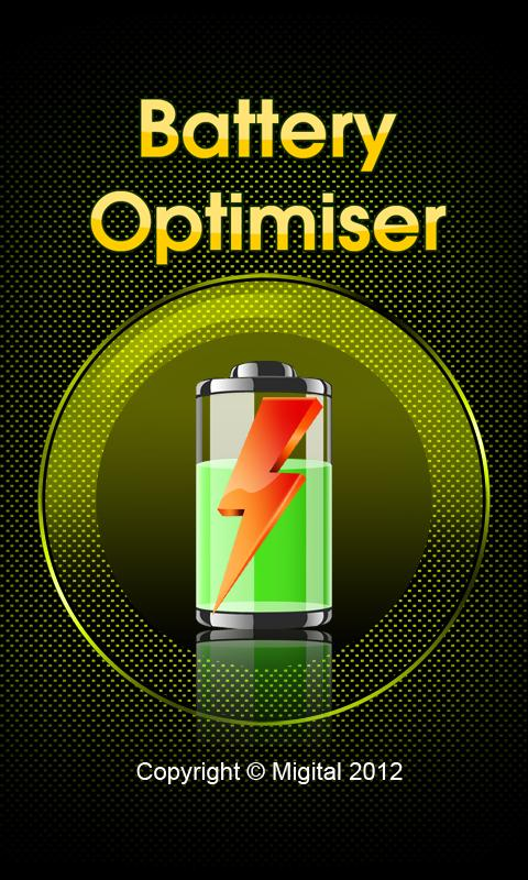 Battery Optimiser - screenshot