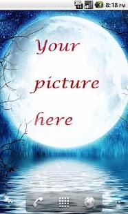 Moonlight Photo Live Wallpaper Full - náhled