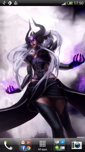 LoL Syndra Live Wallpaper