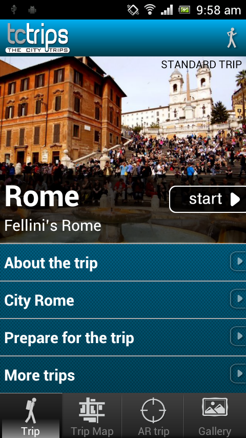 TcTrips Rome - screenshot