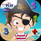 幼儿园数学:海盗小子 icon