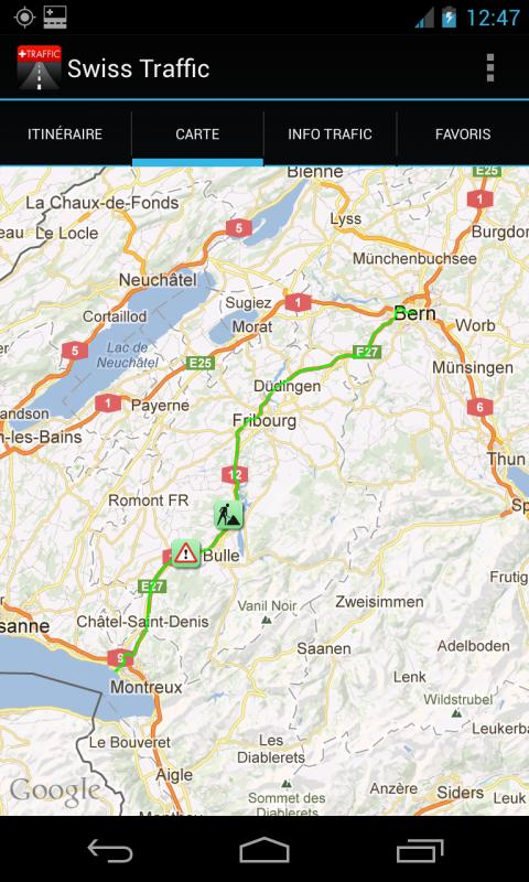 Swiss-Traffic Live - screenshot