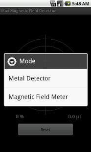 Max Magnetic Field Detector - screenshot thumbnail