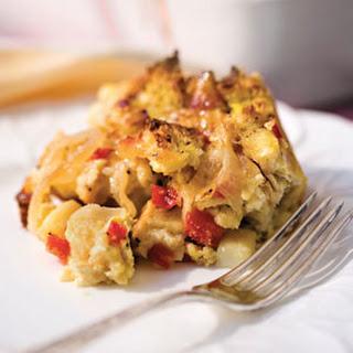 Brie-and-Veggie Breakfast Strata.