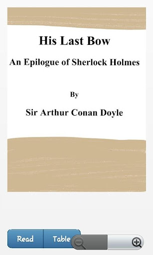 His Last Bow Sir Arthur Conan